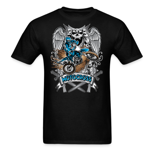 Heraldic Motocross Sports - Men's T-Shirt