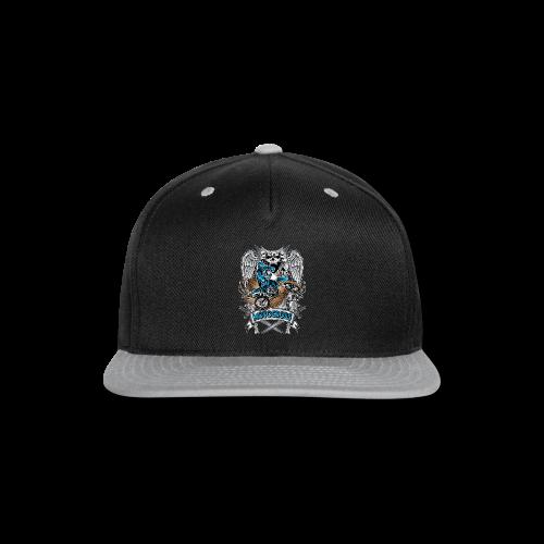 Heraldic Motocross Sports - Snap-back Baseball Cap