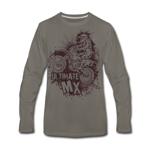 Ultimate Motocross - Men's Premium Long Sleeve T-Shirt