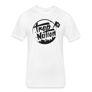 TN White - Fitted Cotton/Poly T-Shirt by Next Level