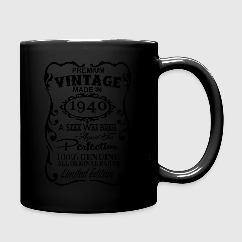 77th Birthday Gift Ideas for Men and Women Unique  - Full Color Mug