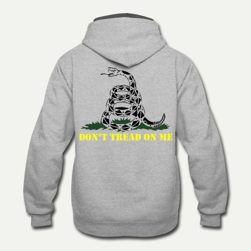 Don't Tread On Me - Contrast Hoodie