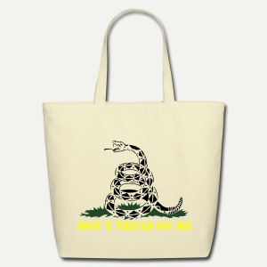 Don't Tread On Me - Eco-Friendly Cotton Tote