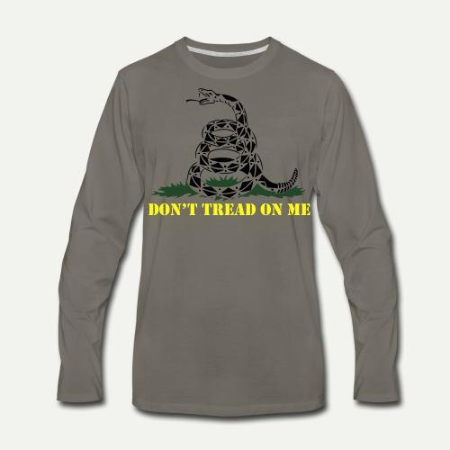 Don't Tread On Me - Men's Premium Long Sleeve T-Shirt