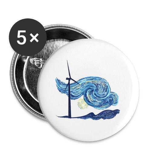 Windy Windy Night - Small Buttons