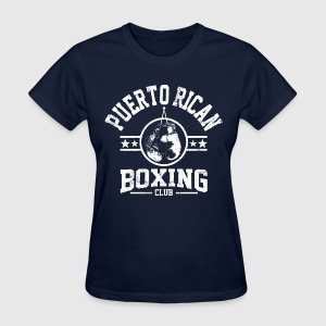 Puerto Rican Boxing Club Long Sleeve Shirts - Women's T-Shirt