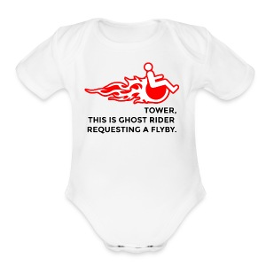 Tower, This is Ghost Rider - Short Sleeve Baby Bodysuit