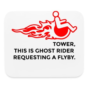 Tower, This is Ghost Rider - Mouse pad Horizontal