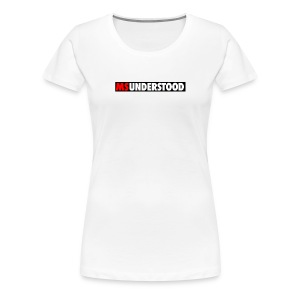 msunderstood - Women's Premium T-Shirt