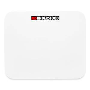 msunderstood - Mouse pad Horizontal