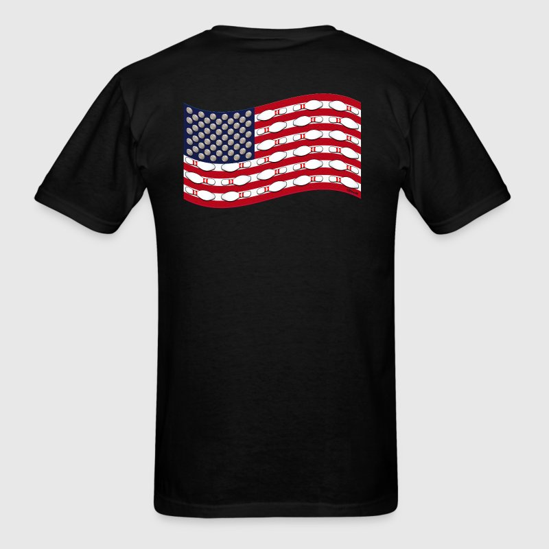 Bowling Flag - Men's T-Shirt