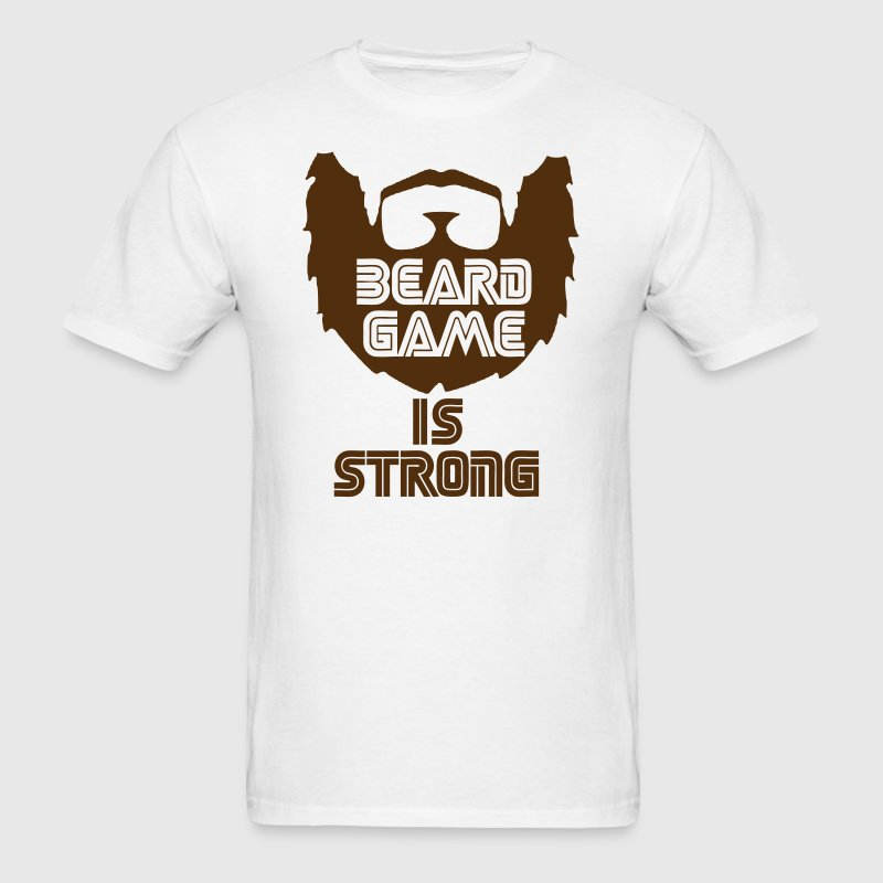 Beard Game T-Shirts - Men's T-Shirt