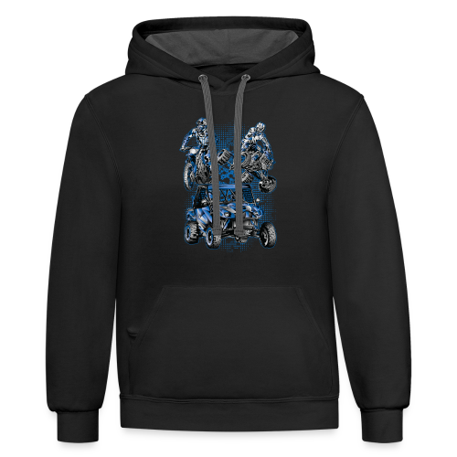 Extreme Racing Sports - Contrast Hoodie