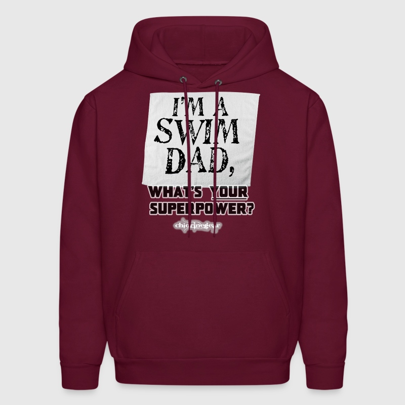 I'm a Swim Dad-Superpower Hoodies - Men's Hoodie