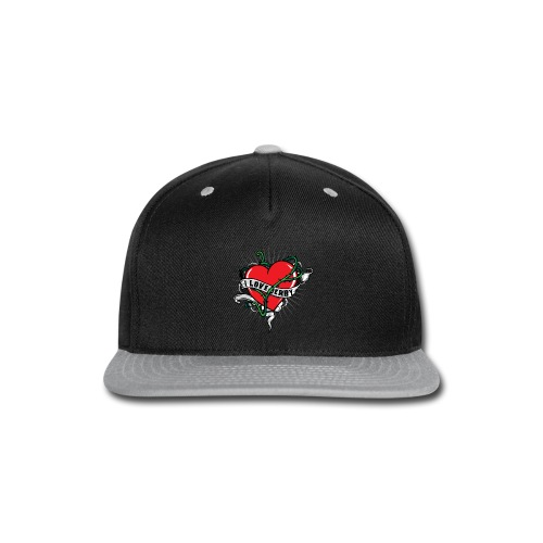 I Love Roller Derby - Snap-back Baseball Cap