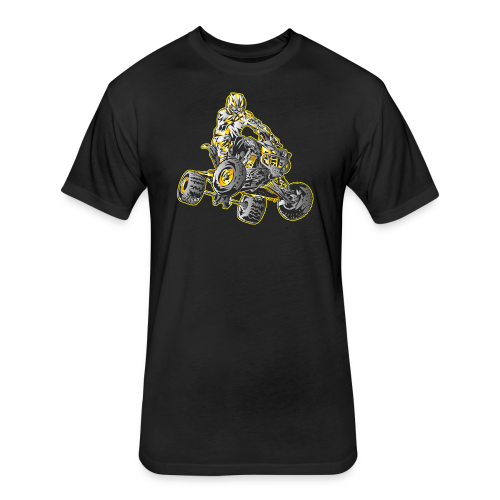 ATV Motocross - Fitted Cotton/Poly T-Shirt by Next Level