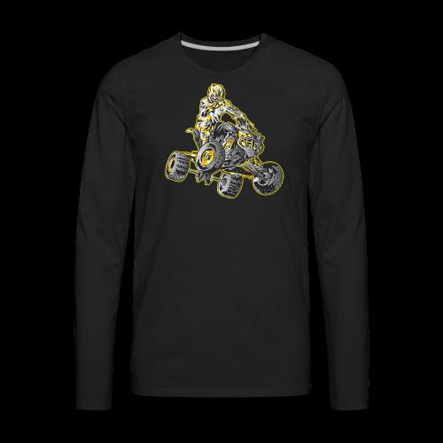 ATV Motocross - Men's Premium Long Sleeve T-Shirt