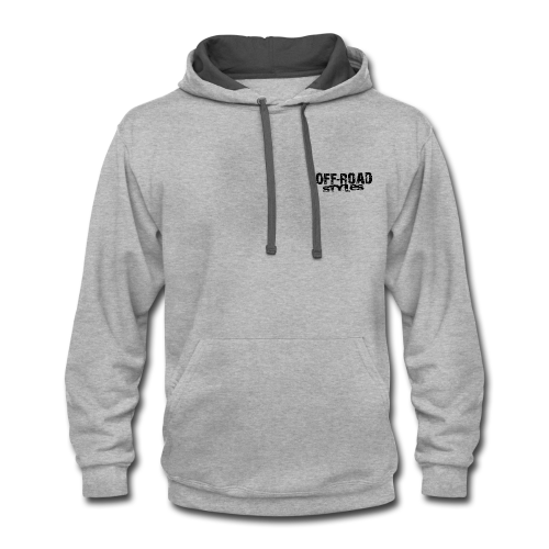 Extreme Off-Road Shirt BACK - Contrast Hoodie