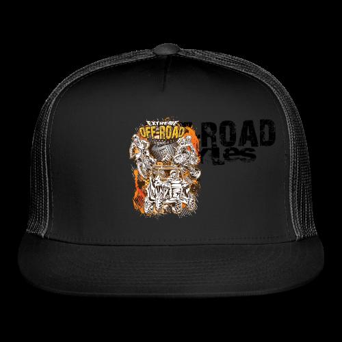 Extreme Off-Road Shirt BACK - Trucker Cap