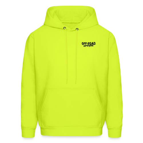 Extreme Off-Road Shirt BACK - Men's Hoodie