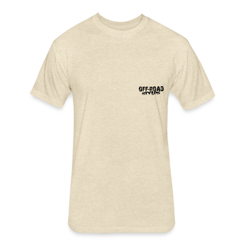 Extreme Off-Road Shirt BACK - Fitted Cotton/Poly T-Shirt by Next Level