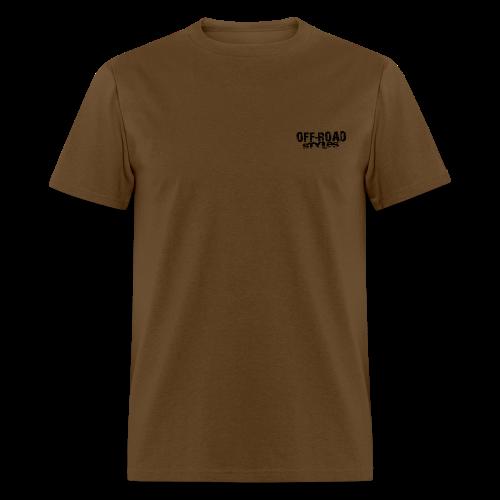 Extreme Off-Road Shirt BACK - Men's T-Shirt