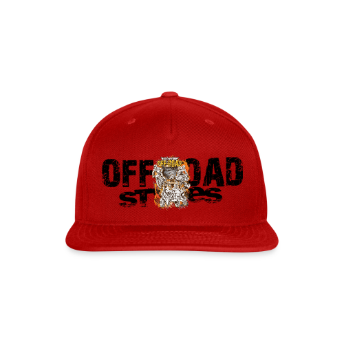 Extreme Off-Road Shirt BACK - Snap-back Baseball Cap