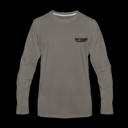 Extreme Off-Road Shirt BACK - Men's Premium Long Sleeve T-Shirt