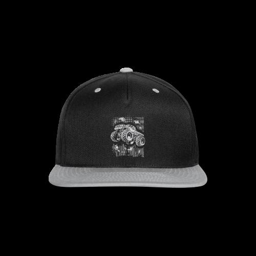 Big Foot Monster Truck Shirt - Snap-back Baseball Cap