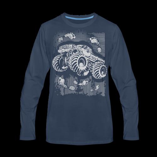 Big Foot Monster Truck Shirt - Men's Premium Long Sleeve T-Shirt