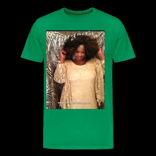 Marguerite Poster T - Men's Premium T-Shirt