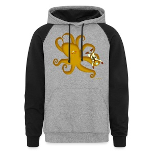 Octopus & Diver Men's T - Colorblock Hoodie