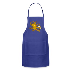 Octopus & Diver - Adjustable Apron