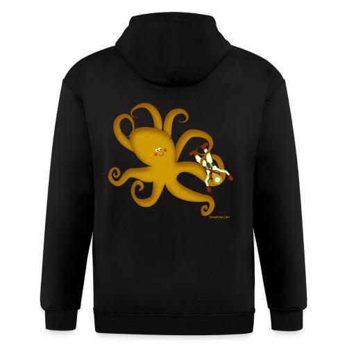 Octopus & Diver - Men's Zip Hoodie