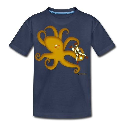 Octopus & Diver - Kids' Premium T-Shirt