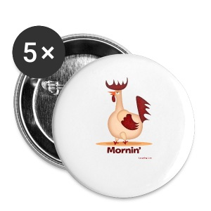 Rooster T-Shirt - Small Buttons