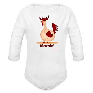 Rooster T-Shirt - Long Sleeve Baby Bodysuit