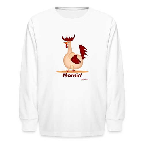 Rooster T-Shirt - Kids' Long Sleeve T-Shirt