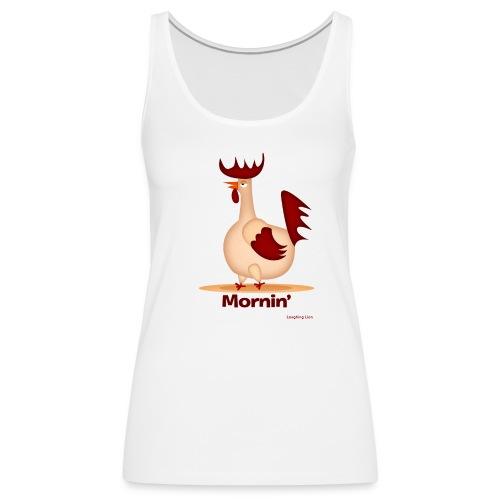 Rooster T-Shirt - Women's Premium Tank Top