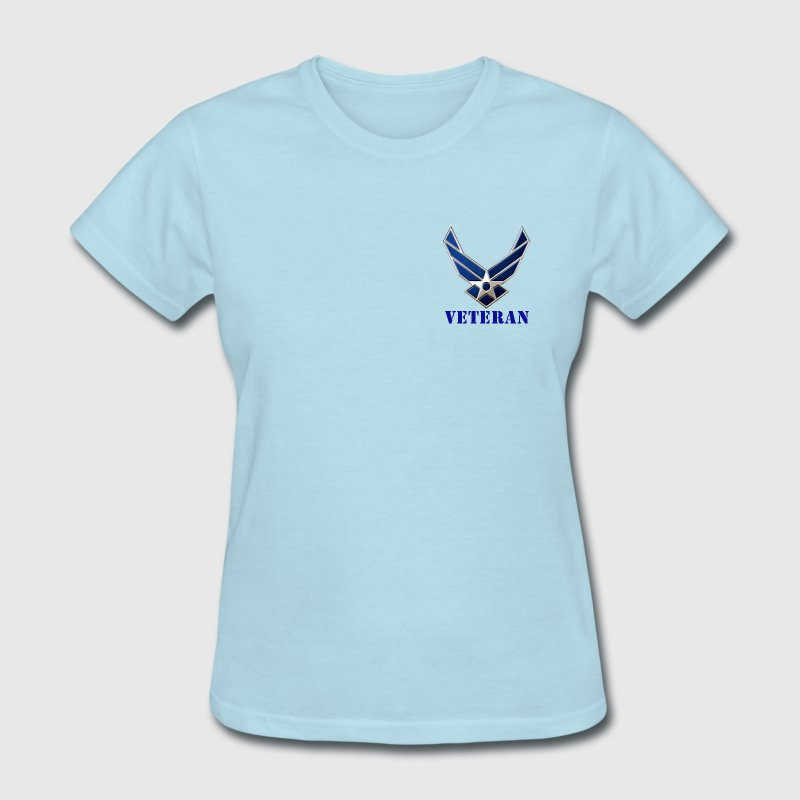 US Air Force Veteran Women's Shirt - Women's T-Shirt