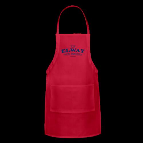 In Elway We Trust - Mens - T-Shirt - NP - Adjustable Apron