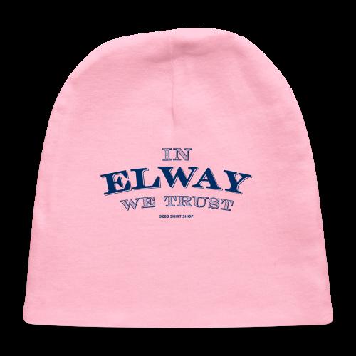 In Elway We Trust - Mens - T-Shirt - NP - Baby Cap