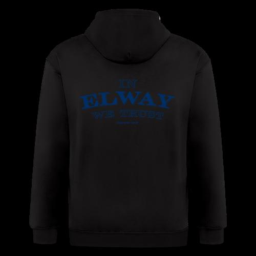 In Elway We Trust - Mens - T-Shirt - NP - Men's Zip Hoodie