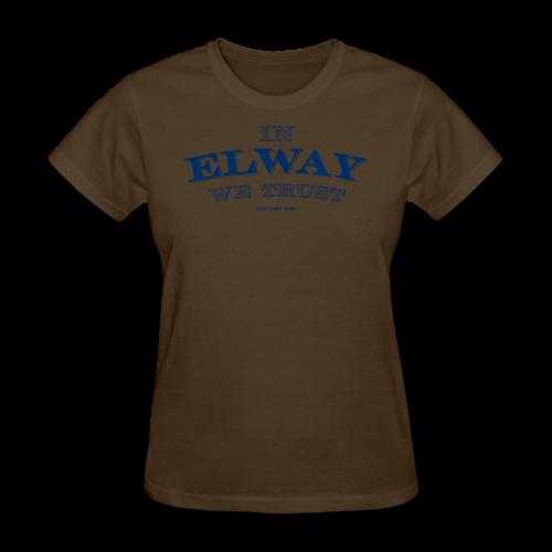 In Elway We Trust - Mens - T-Shirt - NP - Women's T-Shirt