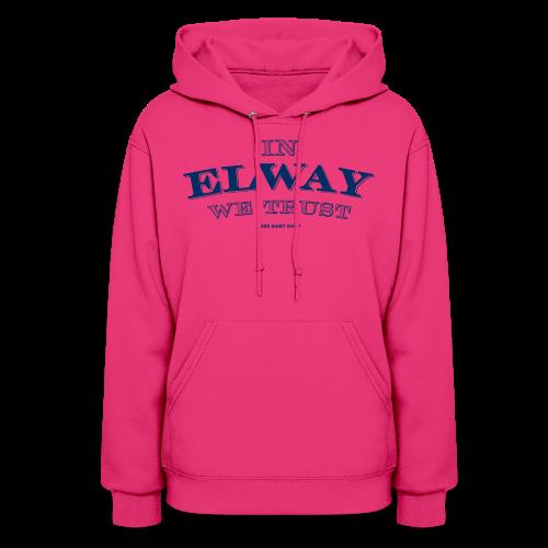 In Elway We Trust - Mens - T-Shirt - NP - Women's Hoodie