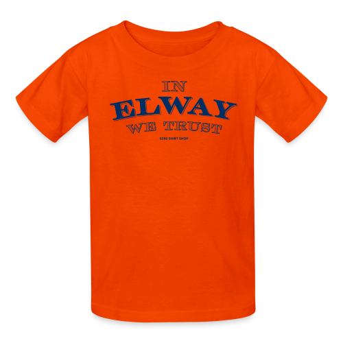 In Elway We Trust - Mens - T-Shirt - NP - Kids' T-Shirt