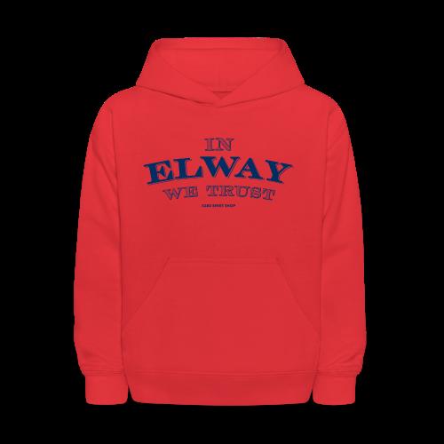 In Elway We Trust - Mens - T-Shirt - NP - Kids' Hoodie