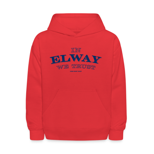 In Elway We Trust - Mens - T-Shirt - NP - Kids' Hoodie