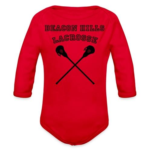 STILINSKI Beacon Hills Lacrosse - Men's T-shirt - Organic Long Sleeve Baby Bodysuit