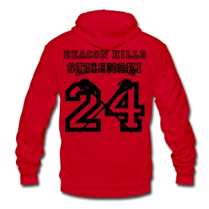 STILINSKI Beacon Hills Lacrosse - Men's T-shirt - Unisex Fleece Zip Hoodie by American Apparel